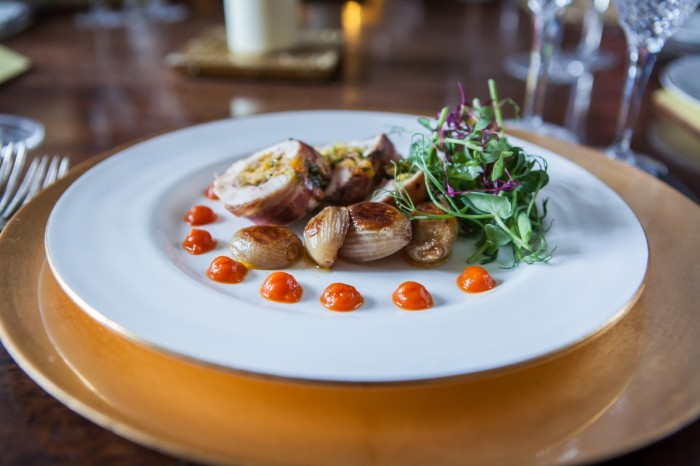 Warmwell House Private Events Food