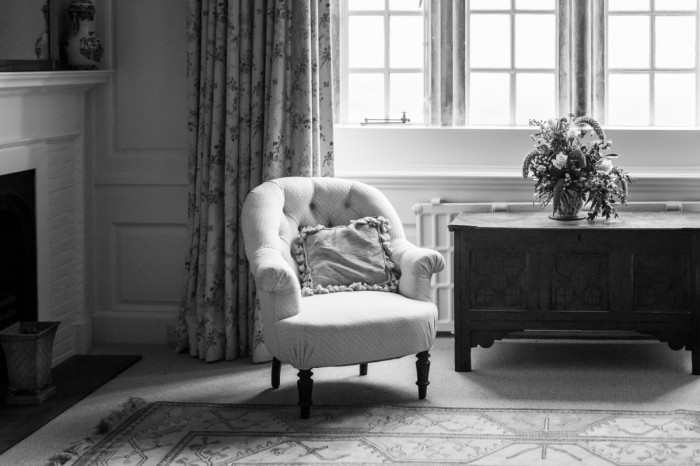 Warmwell House Private Events Weddings Chair BW